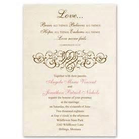 christian wedding invitations christian wedding invitations 39 s bridal bargains