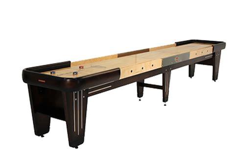 16 foot shuffleboard table 16 foot rock ola walnut shuffleboard table mcclure tables