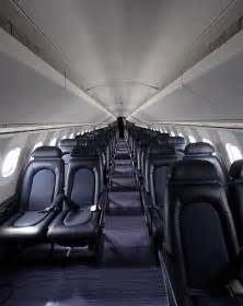 Inside Concorde Airplane