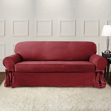 Sure Fit Sofa Covers Canada by Surefit Sure Fit Portland Sofa Slipcover With Ties