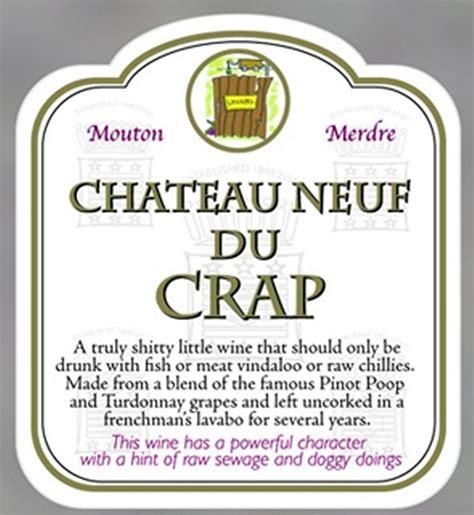 funny wine label  gift bag novelty rude joke party