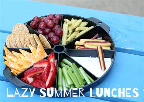 Lazy Summer Lunch Ideas  Make And Takes