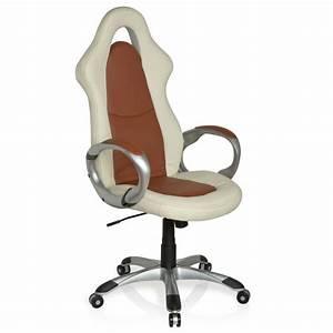 Fauteuil De Bureau Design : chaise de bureau fauteuil design racer sport el achat vente chaise de bureau beige cdiscount ~ Teatrodelosmanantiales.com Idées de Décoration
