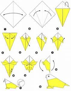 Origami Animaux Facile Gratuit : perroquet en origami ~ Dode.kayakingforconservation.com Idées de Décoration