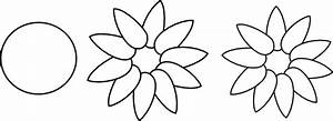 Five Petal Flower Template Layers Flower Petals Clip Art At Clker Com Vector Clip