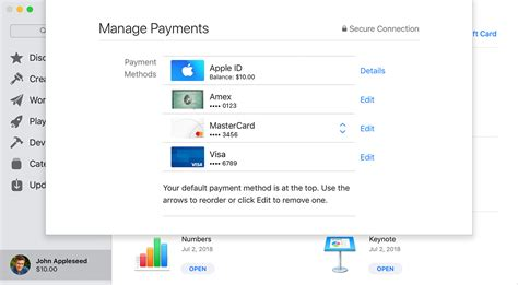 Every potential issue may involve several factors not detailed in the conversations captured in an electronic forum and apple can therefore provide no guarantee as to the. Change, add, or remove Apple ID payment methods - Apple Support