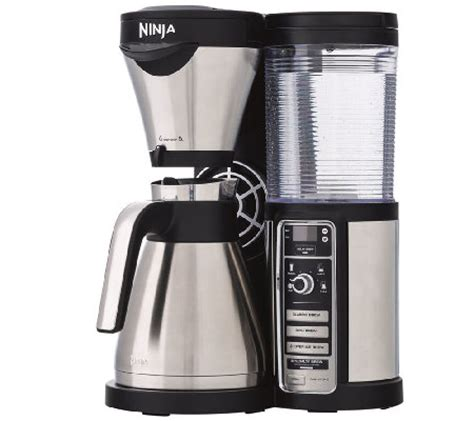 Since this a modern it has the ability to keep the coffee in the carafe for up to 4 hours and it automatically turns off cf091 uses a glass carafe, while the ninja coffee bar cf097 relies on a more sophisticated stainless steel. Ninja Coffee Bar Auto-iQ Coffee Maker Stainless Steel ...