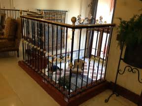 Image of: Interior Wrought Iron Railing Idea Iron 5 Halloween Outdoor Decorations On A Budget