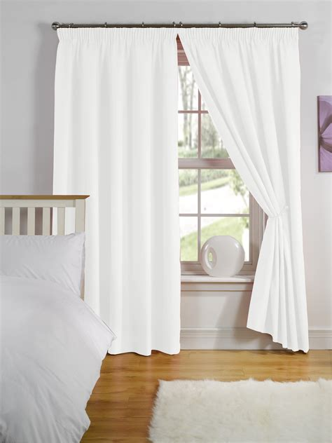 luxury ready made curtains thermal backed lining top