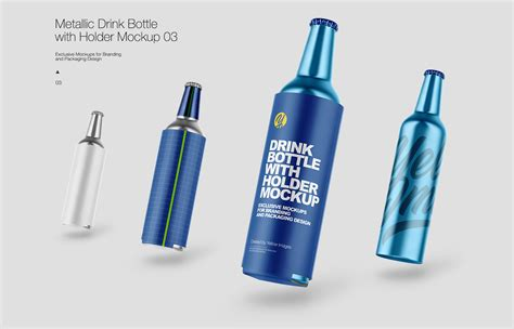 We encourage you to create a free account and login. Free PSD-mockups | Metallic Drink Bottles on Behance