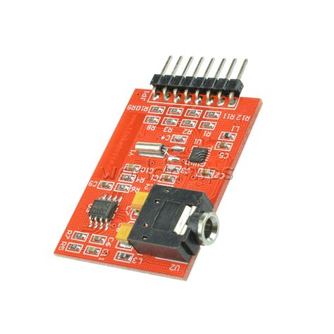 si4703 rds fm radio tuner evaluation breakout board for