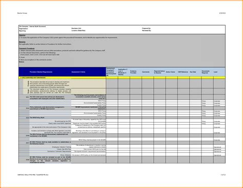 It Audit Template by 8 Audit Report Template Expense Report