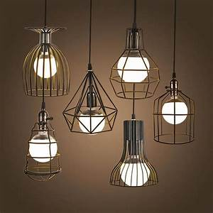 Super bright vintage led pendant lights industrial
