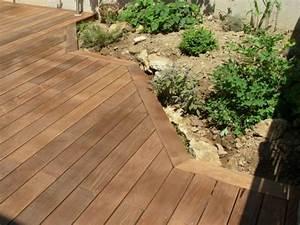 Lame Terrasse Leroy Merlin : attrayant lame de terrasse bois exotique leroy merlin 4 terrasse en ip233 gris233e ip233 lame ~ Dailycaller-alerts.com Idées de Décoration