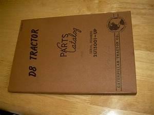 Caterpillar Cat D8 8 Crawler Dozer Parts Manual Book