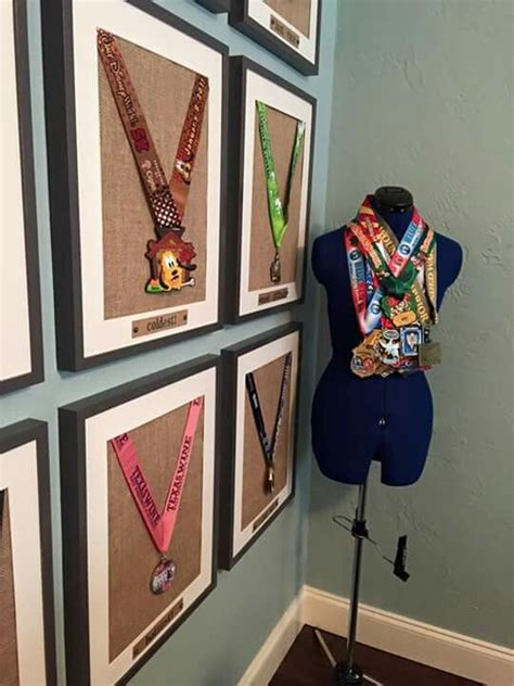 6 creative ideas to display your medals just run lah