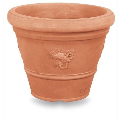 vasi in cotto toscano vaso festonato tondo ducale