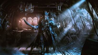 Pirate Ship Ghost Fantasy Pirates Ships Wallpapers