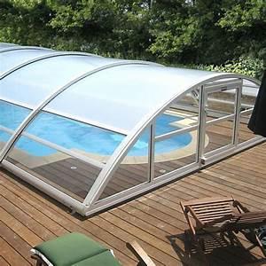 Abri Haut Piscine : abri de piscine en kit conseils d 39 installation prix ~ Premium-room.com Idées de Décoration
