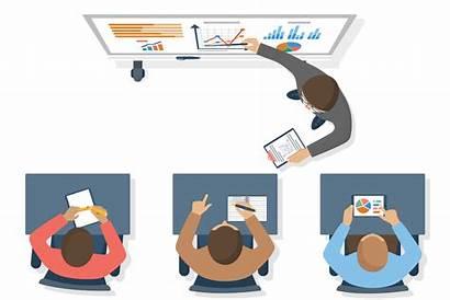 Training Teacher Corporate Clipart Cartoon Employee Seminar