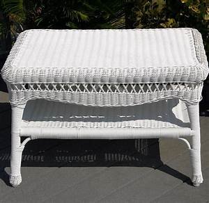 coffee tables ideas nice white wicker coffee table With white resin wicker coffee table