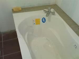 Habillage De Baignoire : panneau carreler habillage baignoire 17 messages ~ Dode.kayakingforconservation.com Idées de Décoration