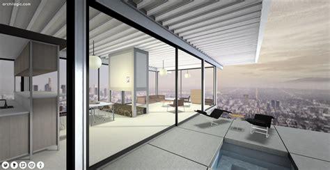 virtual   pierre koenigs case study house