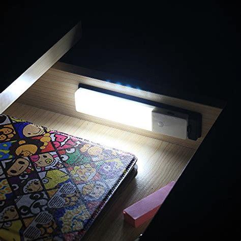 zeefo rechargeable wireless pir motion sensor night light