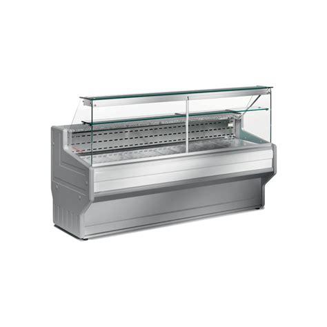 Comptoirs Vitrines Refrigerees Vitres Droites L2000mm