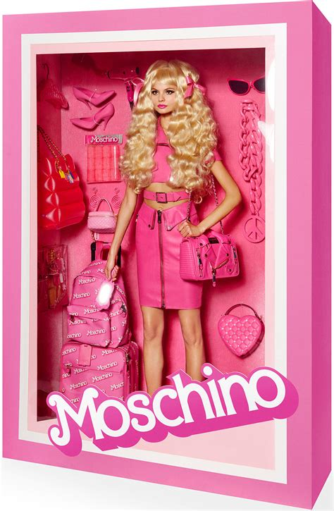 models pose  high fashion dolls   store packaging