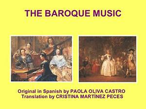 The music of the Baroque