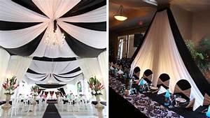 Idee Deco Salle Mariage : idee decoration mariage noir et blanc id es et d 39 inspiration sur le mariage ~ Teatrodelosmanantiales.com Idées de Décoration