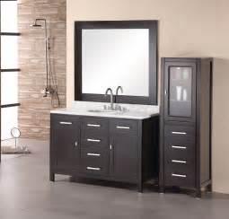 48 Quot London Dec076c Single Sink Vanity Set In Espresso Finish Bathroom Vanities Bath