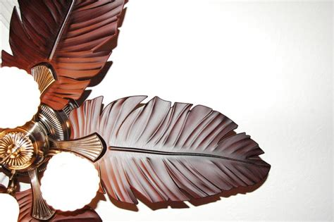 Harbor Breeze Palm Leaf Ceiling Fan Blades by Ceiling Fan Feather Palm Frond