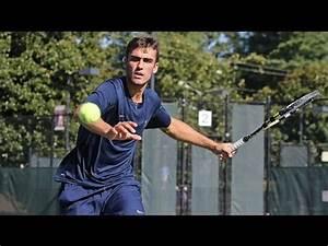 Men's Tennis - ITA Atlantic Regional - YouTube