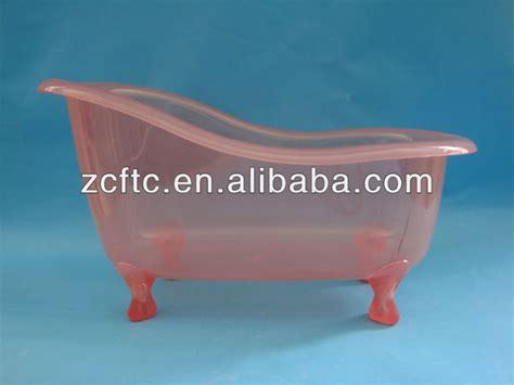 Baignoire En Plastique Pour L'emballage De Bain Produits
