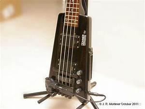 Hohner Steinberger B2 Bass With Gk-3b Midi Pickup - Neophytte1 Mine Nu