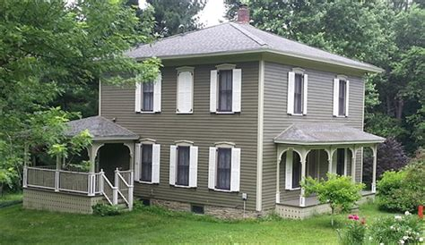 House With White Shutters by Give Your Shutters A Fresh Coat Of Paint