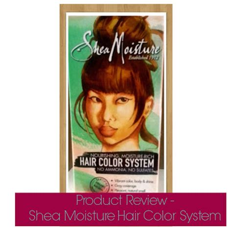 shea moisture color system product review shea moisture hair color system