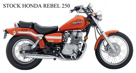 Honda Rebel 250 & 125  Blue Collar Bobbers