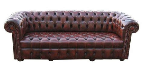 canapé chesterfield cuir occasion photos canapé chesterfield cuir occasion