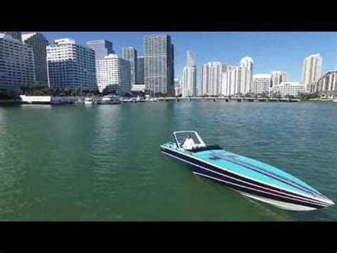 Miami Vice Boat Music by Miami Vice Chris Craft Stinger 390x Gopro Hero2 Light Run