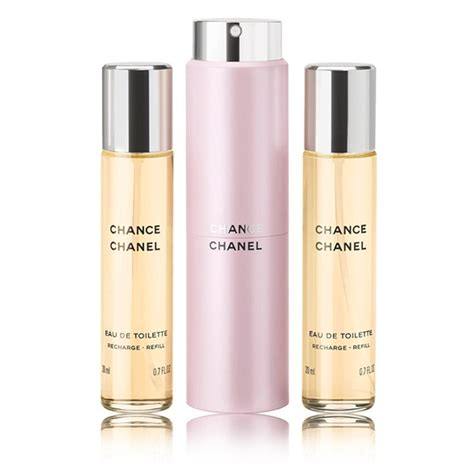 chance eau de toilette spray chance eau de toilette twist and spray fragrance chanel
