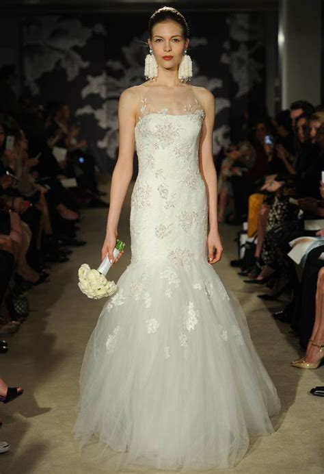 carolina herrera spring  bridal collection wedding