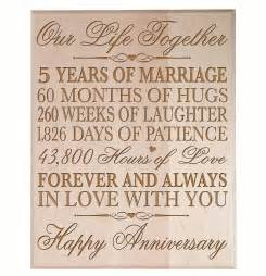 5 year wedding anniversary gift ideas top 20 best 5th wedding anniversary gifts