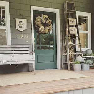 15 Best Farmhouse Front Porch Decor Ideas