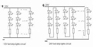 why 24v led strip lights but 12v led strip lights www With 12v led circuit