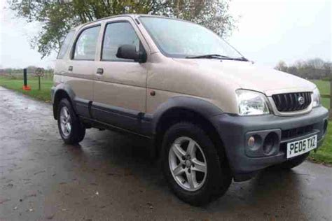Daihatsu 2000 Terios 1.3 4x4 4wd Px Swaps Welcome. Car For