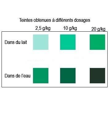 colorant alimentaire poudre couleur vert menthe shopping culinaire