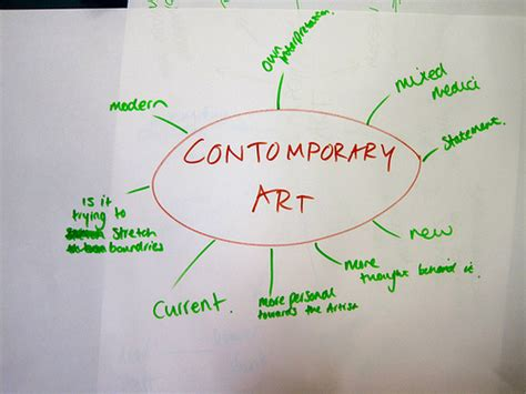 what is contemporary what is contemporary art brown and green creative consulta flickr